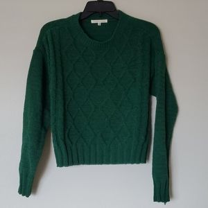 NWT Copper key knit fall sweater green